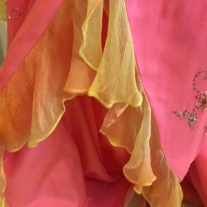 ecite Dresses - Pink prom/ evening gown size 4